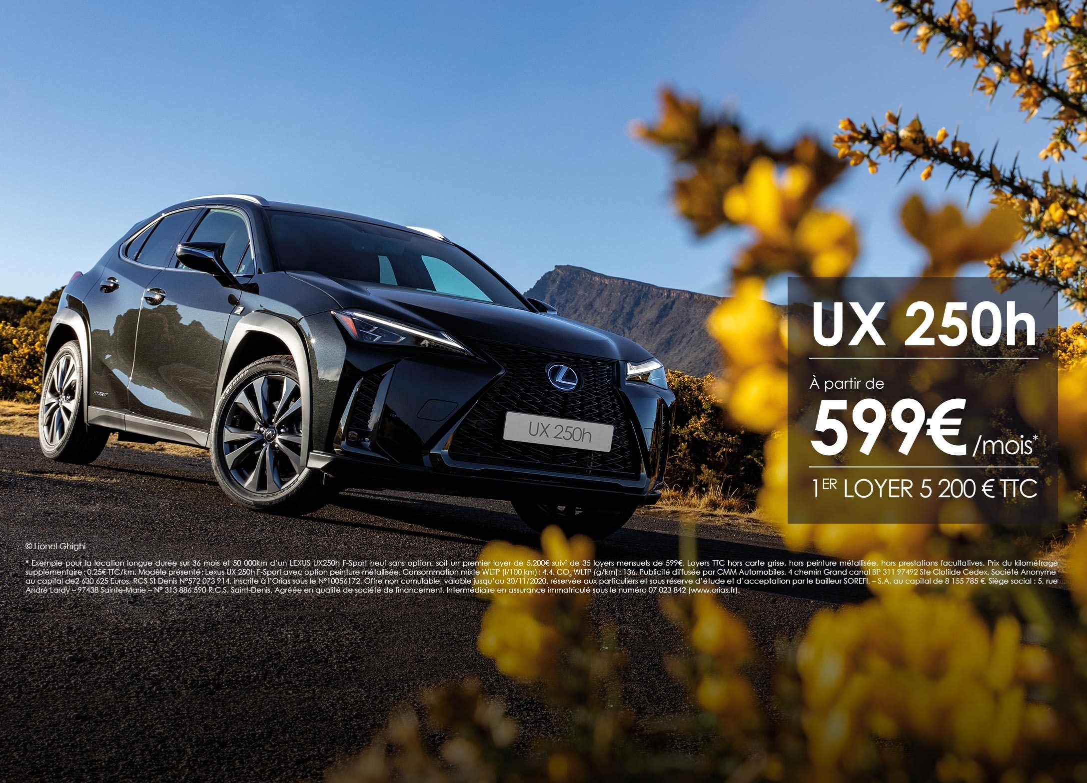 UX 250H - Octobre 2020 - Lexus.re